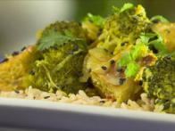 Grilled-Tempeh Broccoli Curry