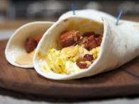 Breakfast Chorizo and Egg Taco