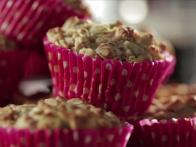 Low-Fat Apple Oat Muffins