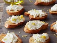 Fresh Ricotta Crostini