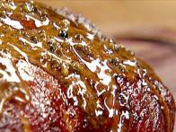 Duck in Green Peppercorn Glaze