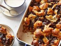 French Croissant Bread Pudding