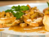 Apple-'Sauced' German Pancakes