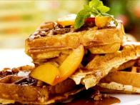 Praline-Time Brunch Waffles