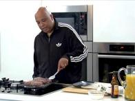 Rev Run on Food and Cooking It