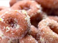 Sugary-Sweet Mini Doughnuts
