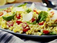 Corn and Tomato Orzo Salad
