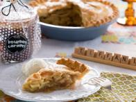 Candied Ginger Apple Pie
