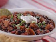 Squash and Black Bean Chili