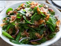 Tiffani's Warm Spinach Salad