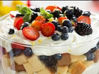 Tiffani's Tri-Berry Trifle