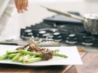 Grilled Beef-Wrapped Asparagus