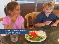 Stretching Kids' Food Tastes