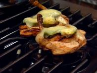 Avocado and Cheese Cowboy Chicken