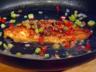 Creole Baked Red Snapper