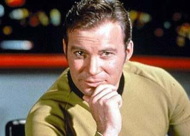 Captain James T. Kirk, contemplative...