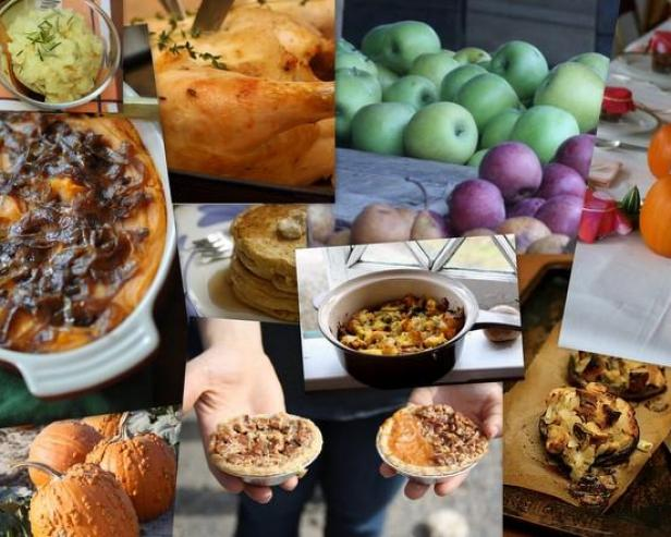 Big Girls, Small Kitchens Thanksgiving Inspiration Board