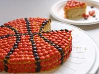 Final Four Basketball Cake