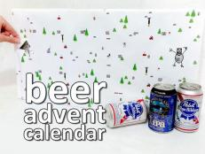 Get complete instructions to customize your own beer advent calendar on Instructables.