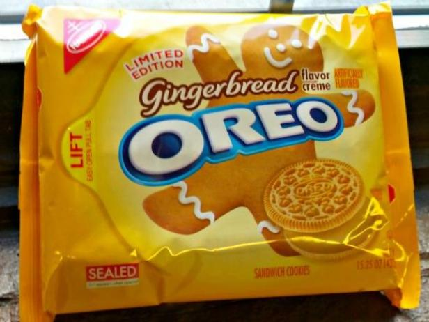 Gingerbread Oreo Review