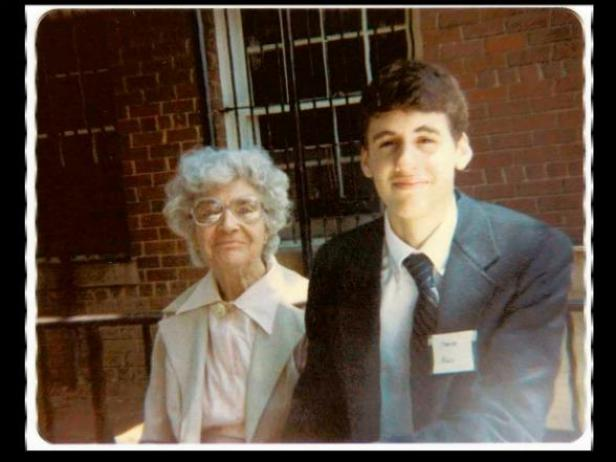 Mo Rocca and His Grandmother