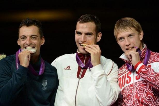 Olympians Who Eat Their Medals