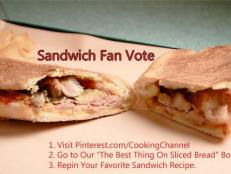 We've put photos of some of our favorite sandwich recipes from some of our favorite chefs on Pinterest. Find out how to vote for your favorite.