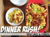 Dinner Rush!  BB&C Mac (Bacon, Broccoli and Cheddar Mac & Cheese)