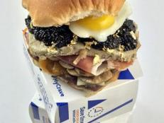 Nick from Dude Foods spends a whole lot of money to make a fancy and strange White Castle slider.