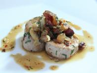 Pork Tenderloin with Bacon, Chile Flakes