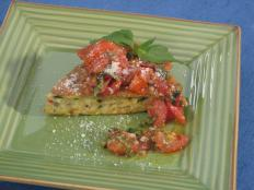 Cooking Channel serves up this Frittata with Peppers and Onions with Roasted Cherry Tomato Sauce recipe from Bobby Flay plus many other recipes at CookingChannelTV.com
