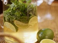 Coriander Spumante with Lime