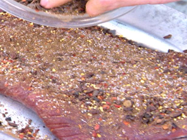 Cacao Nibs Rub on Tri Tip or Skirt Steak