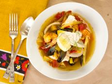 Cooking Channel serves up this Bouillabaisse recipe from Kelsey Nixon plus many other recipes at CookingChannelTV.com