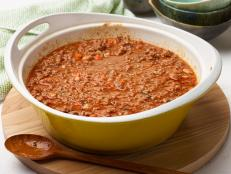 Cooking Channel serves up this Bolognese Sauce recipe from Debi Mazar and Gabriele Corcos plus many other recipes at CookingChannelTV.com