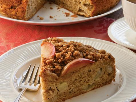 Apple-Studded Brown Butter Streusel Coffee Cake