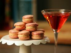 Cooking Channel serves up this French Macarons with Salted Bourbon Caramel Buttercream recipe  plus many other recipes at CookingChannelTV.com