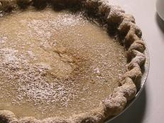 Cooking Channel serves up this Hoosier Sugar Cream Pie recipe  plus many other recipes at CookingChannelTV.com
