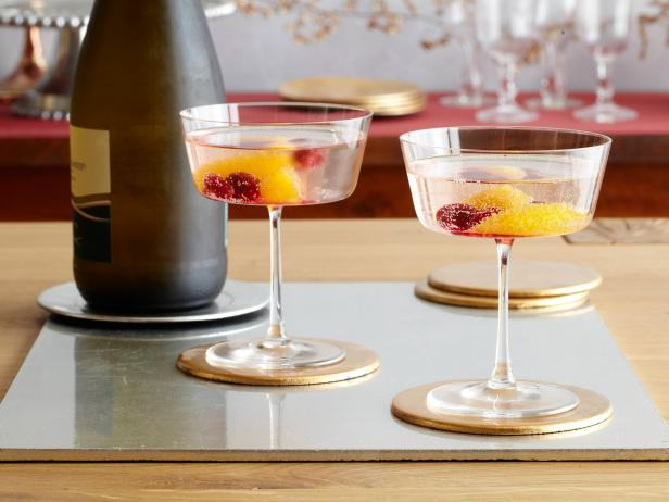 Chuck Hugh's Cranberry Orange Prosecco