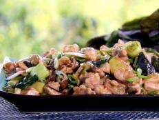 Cooking Channel serves up this Oyster Sauce Chicken with Bok Choy recipe from Ching-He Huang plus many other recipes at CookingChannelTV.com