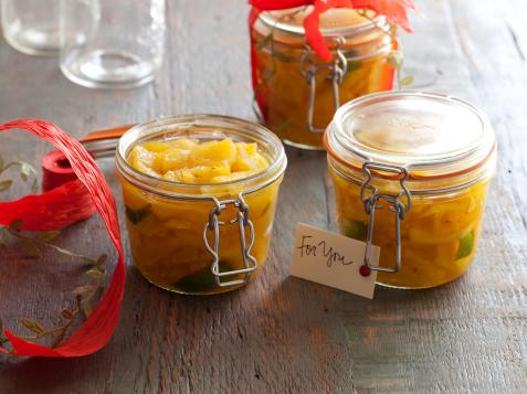 Pineapple Confit with Aleppo Pepper, Smoked Sea Salt or Cloves