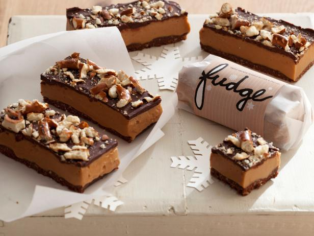 Triple decker peanut butter and pretzel fudge recipes cooking triple decker peanut butter and pretzel fudge forumfinder Image collections