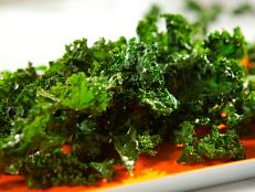"Cooking Channel serves up this Kale ""Chips"" recipe  plus many other recipes at CookingChannelTV.com"