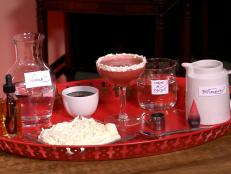 Cooking Channel serves up this Red Velvet Cupcake Cocktail recipe from Alie Ward  and Georgia Hardstark plus many other recipes at CookingChannelTV.com