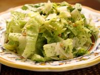Chopped Hearts of Romaine with Salsa Verde