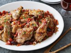 Cooking Channel serves up this Chicken Cacciatore recipe from Debi Mazar and Gabriele Corcos plus many other recipes at CookingChannelTV.com