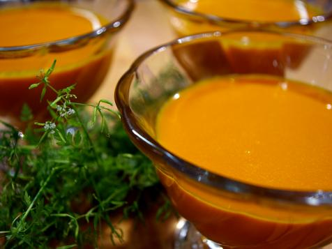 Carrot and Carrot Juice Soup