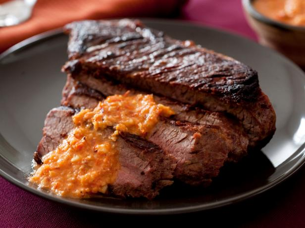 Tri-Tip Steak with Tomato Romesco