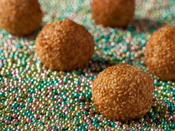 Chocolate Sesame Balls