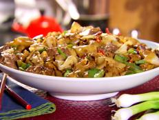 Cooking Channel serves up this Beef and Black Bean Ho Fun recipe from Ching-He Huang plus many other recipes at CookingChannelTV.com